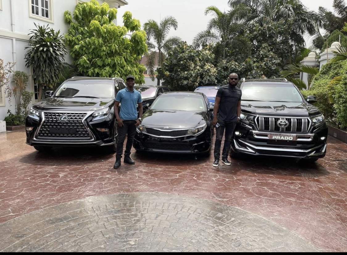The swanky cars and their owners