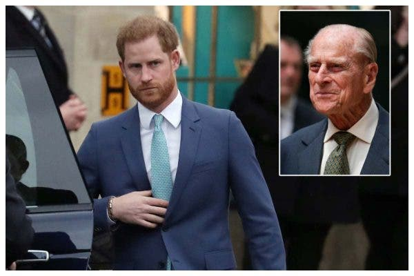 Prince Harry slept through call about Prince Philip's death
