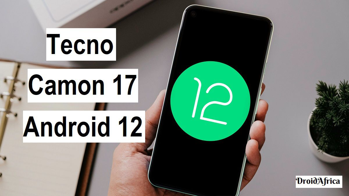 Tecno Camon 17 Android 12 update